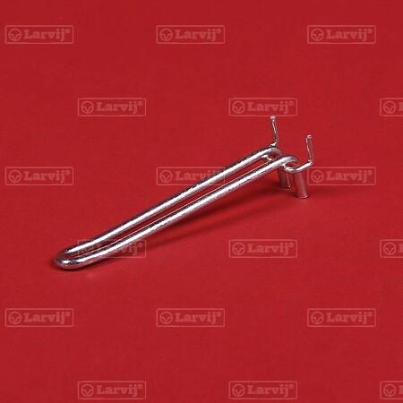 Крючок для перфорированной панели, двойной (комплект 5 шт.)