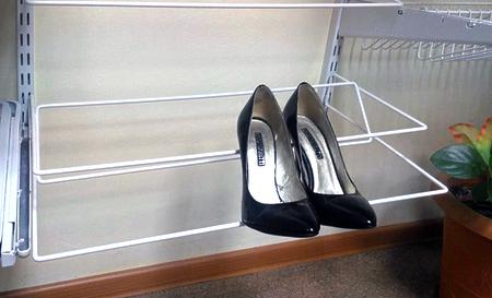 Полка для каблуков двойная